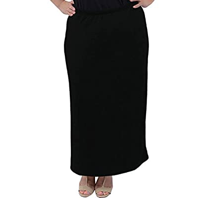 Stretch is Comfort Women's Plus Size Long Tube Skirt