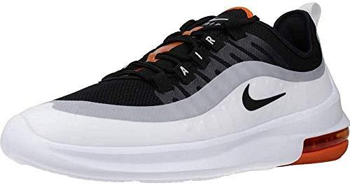 Nike Air Max Axis, Scarpe da Corsa Uomo, Black/Black/White/Magma Orange/Lt Smoke Grey, 45 EU