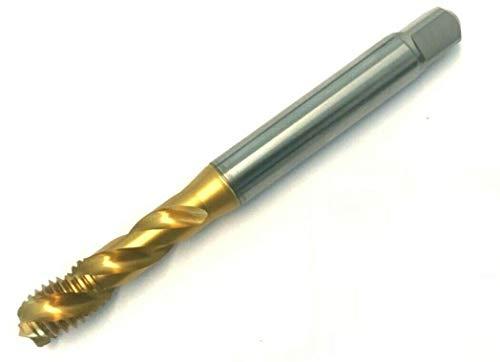 Gewindebohrer M6 - Regelgewinde DIN 371 Form C ISO2/6H - Qualität HSSE TiN - universelle Stahlbearbeitung