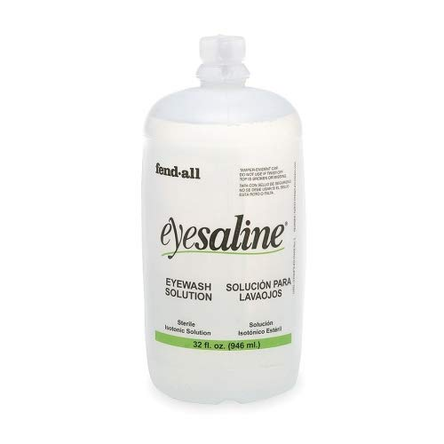 32 Oz. Refill, Eye And Face Wash Sterile Eyesaline
