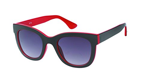 Chic-Net Dames de Style des Lunettes de Soleil Chat Oeil Bien Vintage Frame Glamour 400UV teinté Rouge