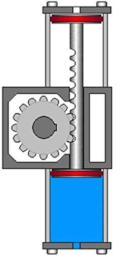 Ingeniería neumática aplicada a la generación de movimiento mecánico : Neumática