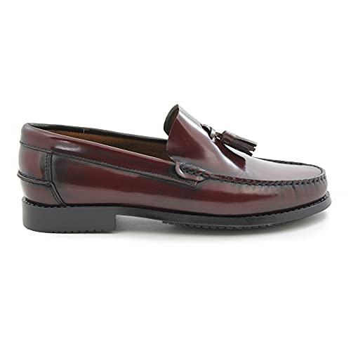 Zapatos Castellanos Marca BENAVENTE BORLAS Burdeos -...
