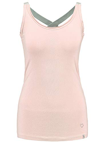 KEY LARGO Damen Tanktop WT Top Lucy Rose (70) L