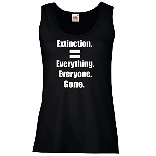 Pull unisexe noir Extinction Rebellion All Gone Environment Protest Climate Change [XXL]