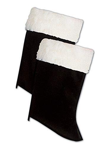 Forum Novelties Men's Santa Boot Cuffs, Multi, One Size