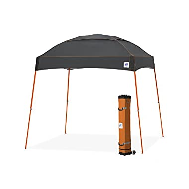 E-Z UP Dome Instant Shelter Canopy, 10 by 10', Steel Grey