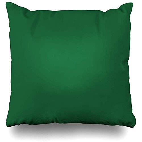 LOVE GIRL Fundas de cojín Sólido Kelly Green Pop de Color Tamaño Cuadrado al Aire Libre 45x45 cm Fundas de cojín Fundas de Almohada para el hogar