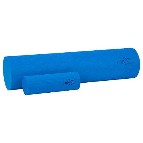 softX Faszien Trainingsgerät Set Rolle, blau
