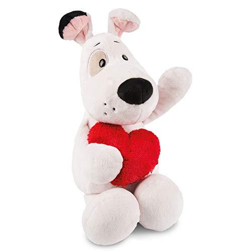 NICI 46085 Kuscheltier Love Hund 50cm, aus Plüsch, süßes Stofftier für Kinder und Kuscheltierliebhaber, 50 cm