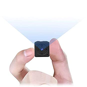 Mini Spy Camera Wireless Hidden MHDYT Full HD 1080P Portable Small Covert Home Nanny Cam with Motion Detection and Night Vision Indoor/Outdoor Micro Security Surveillance Hidden Camera