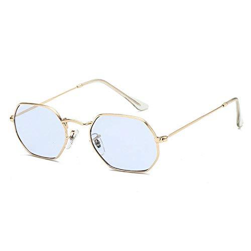 U/N Gafas de Sol de Metal Vintage para Mujer, Espejo clásico, Retro, Street Beat, Gafas para Hombre, Gafas para Conducir-9