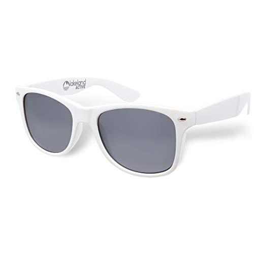 Lakeland Active UV400 Gafas de sol polarizadas estilo clásico Blanco Talla única