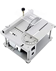150 W tezgah tipi daire testere, mini masaüstü testere, elektrikli kesme makinesi, testere bıçağı açı ayarı, ayarlanabilir hız, 40 mm kesme derinliği