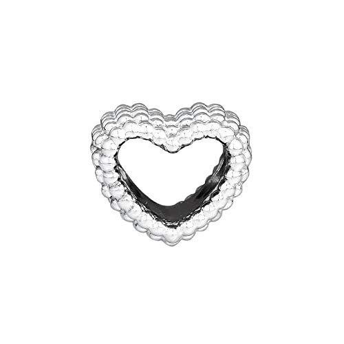 Awdijf 925 Colgante De Plata Esterlina Con Cuentas En Forma De Corazón Pulsera De Abalorios Joyería Mujeres Hombres Cuentas Diy Para Hacer Joyas Regalo Exquisito