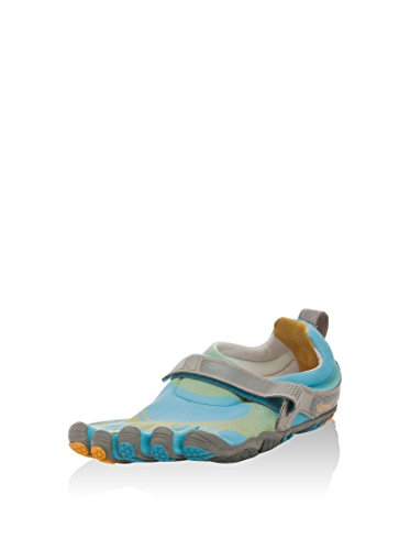 Vibram FiveFingers Herren Running M346 Bikila, blau/gelb/grau, 44 EU