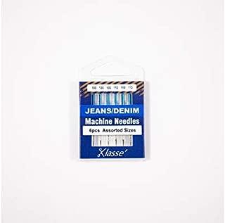 Klasse Jeans Denim Needles, Assorted, 1 Pack, 6pcs, AA5103.991
