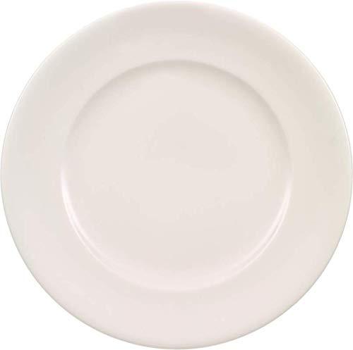 Villeroy & Boch Home Elements Frühstücksteller, 22 cm, Premium Porzellan, Weiß