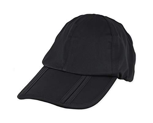 ds. distinctive style Protección UV 50+ Salpicaduras Impermeable Secado rápido Gorra para el Sol ala Larga Plegable Correr Deportes al Aire Libre Sombrero Plegable Gorras de béisbol portátiles