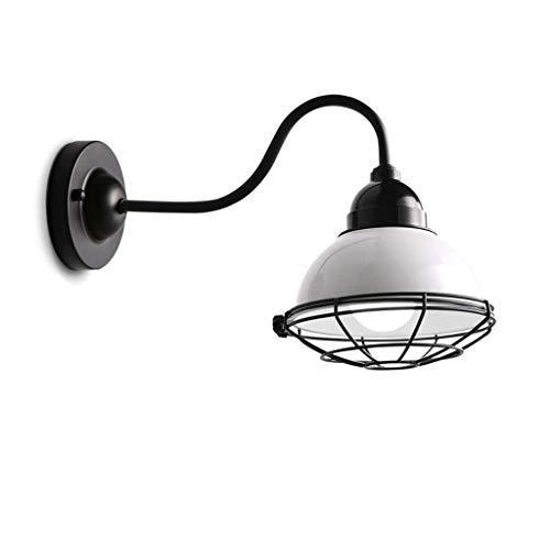 WY-YAN Simple Pared del Hierro labrado luz Creativa Chimenea Escalera cabecera de la habitación