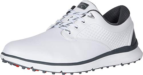 Callaway Men's Oceanside LX Golf Shoes, White, 10.5, D