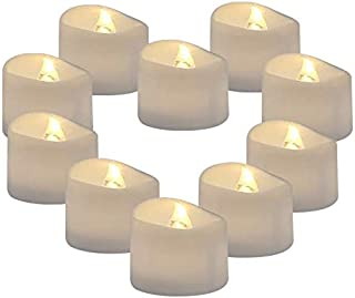24 Pack Flameless Floating Tea Lights, Warm White Battery Flickering LED Tea Lights Candles - Wedding, Party, Centerpiece,...