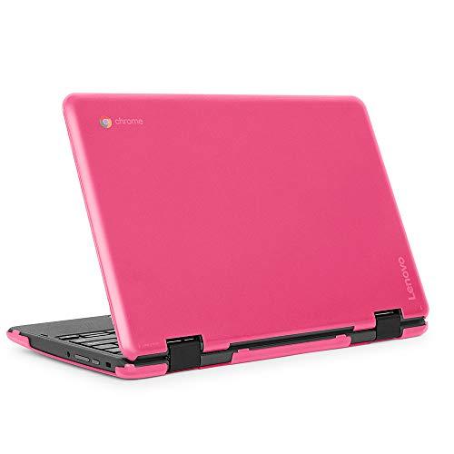 Pink mCover Hard Shell Case for 2018 11.6' Lenovo 500E 2 GEN series 2-in-1 Chromebook Laptop