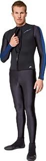 NeoSport Wetsuits Men's Premium Neoprene 2.5mm Zipper Vest