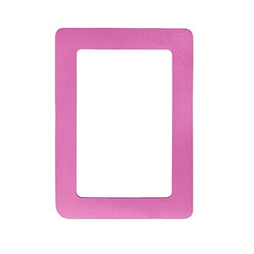 Cadres photo magnétiques, Hunpta coloré magnétique cadres photo 11.8*16cm Aimants PhotoFrame souvenirs rose