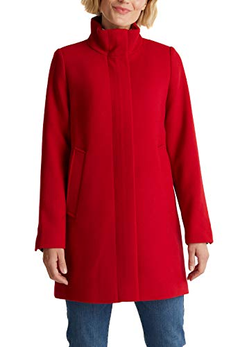 ESPRIT 090ee1g335 Giacca, 610/Rosso Scuro, L Donna