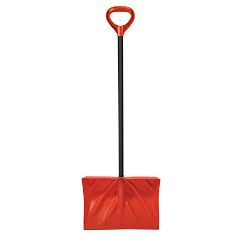 Bigfoot 18 in. Combo Snow Shovel with Steel Core...
