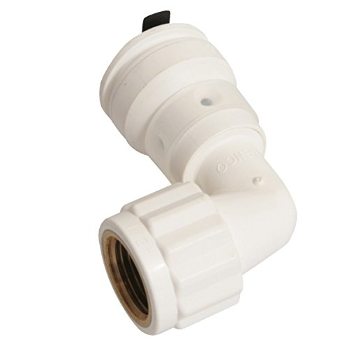 Set di alluminio tubo di collegamento, Vision, Arco 90°, 20mm x 1/2pollici IG | 10pezzi