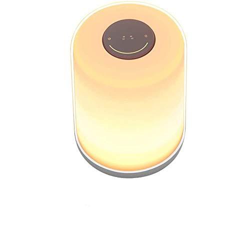 Kanavi Nachtlicht Nachttischlampe Touch-Nachttischlampe dimmbar 256 RGB Farbwechsel Nachtlicht für Schlafzimmer Wohnzimmer Büro