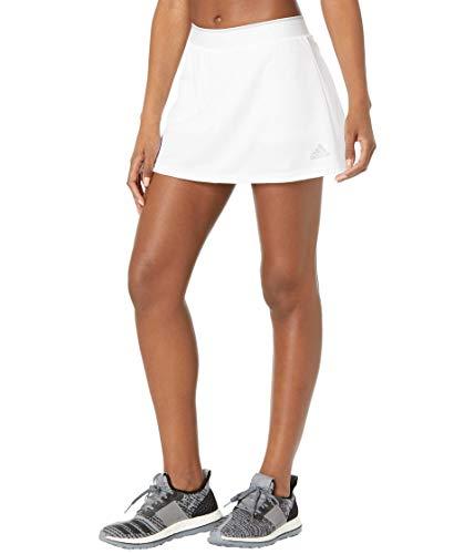 adidas,Womens,Club Skirt,White/Grey,Small