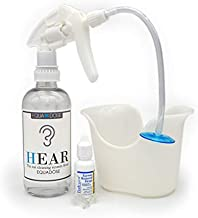 Hear Earwax Remover from Equadose. Assembled in USA. Top Quality Ear Wax Removal Kit for Ear Cleaning and Irrigation.