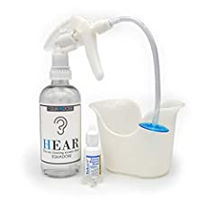 MOST EFFECTIVE CLEANING: Works better than any other ear wax remover for impacted ears. INEXPENSIVE: The very same ear irrigation kits as those used by doctors, but you can do this yourself at home. SIMPLE TO USE: Just add warm water and OTC hydrogen...