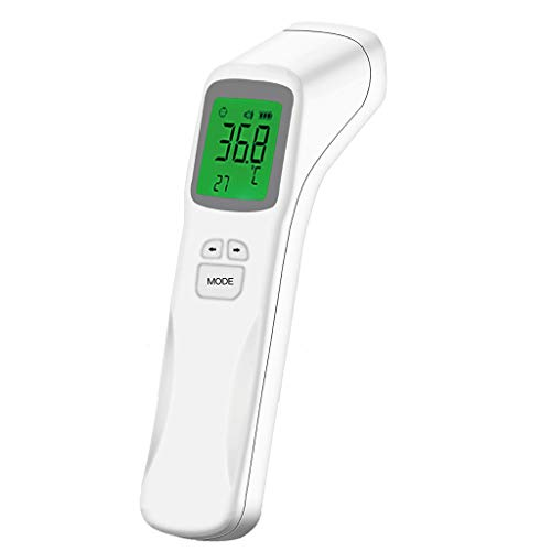 Sale!! JHLIA [Limited time No Touch Infrared Thermometer for Kids & Adults Forehead Thermometer Digi...