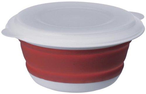 Emsa 507250 Smart Kitchen Falt-Schale mit Deckel