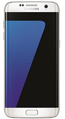 """Samsung Galaxy S7 Edge - Smartphone Libre Android (Pantalla de 5.5"""", Bluetooth, 4 GB de RAM, Memoria de 32 GB, cámara de 12 MP, SIM única), Color Blanco"""