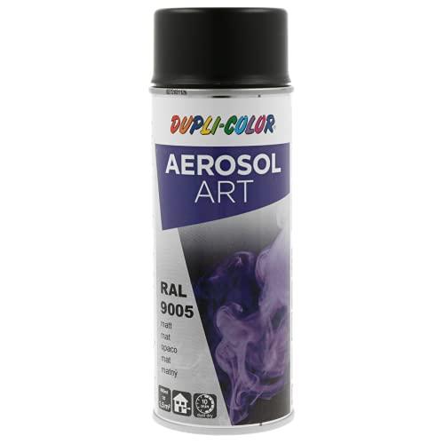 Dupli Color 733161 AEROSOL Art RAL 9005 Nero Profondo Opaco 400 ml