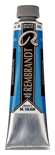 Rembrandt Oil Colour Tube 40 ml Cerulean blue 534 (01055342)