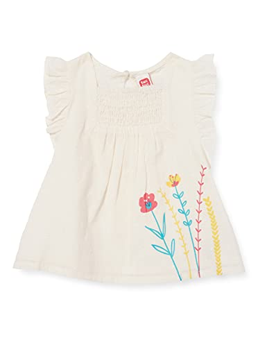 Tuc Tuc Blusa Popelín Detox Time bluzka dla dziewczynek, biały, 24 Miesiące