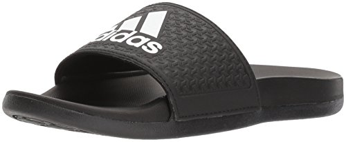 adidas Unisex-Kids Adilette Clf+ K Sandal,core black,White, core black,11K M US Little Kid