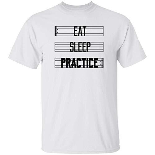 Twosetviolin M_E_R_C_H Eat Sleep Practice Repeat Shirt