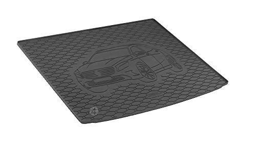 Passgenau Kofferraumwanne geeignet für Mercedes GLA ab 2014 ideal angepasst schwarz Kofferraummatte + Gurtschoner