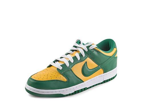 Nike Dunk Low SP Brasile Varsity Maise/Pine Verde Pelle Dimensione, Lyndee, 47.5 EU