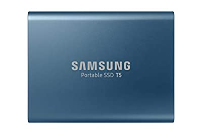 SAMSUNG T5 Portable SSD 500GB - Up to 540MB/s - USB 3.1 External Solid State Drive, Black (MU-PA500B/AM)