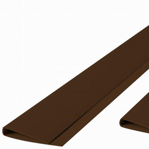 Maxi Abdeckprofil PVC 2m braun