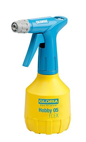 GLORIA Feinsprühgerät Hobby 05, 0,5L, mit Doppelhub, 1x Pumpen und 2x Sprühen