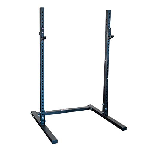 Titan Fitness T-3 Series 22-inch Squat Stand, 1,000 LB Capacity, Short Squat Rack with Reinforced J-Hooks